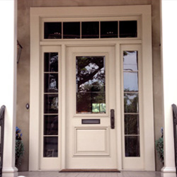 Exterior Door With Sidelights And Transom CombinationsSidelights